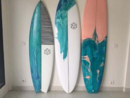 Hand made surfboard Kuta Lombok
